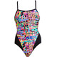 Funkita Single Strap One Piece Baddräkt Dam